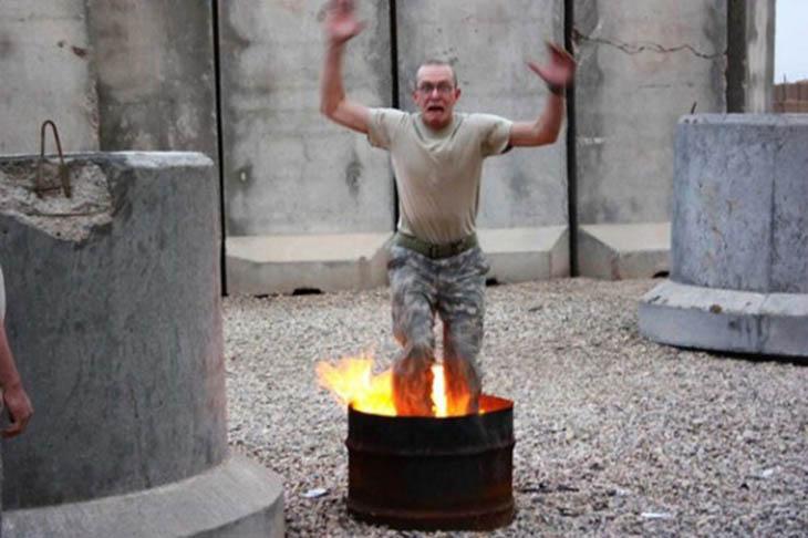 Fire-Resisting Pants Testing