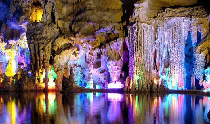 Reed Flute Cave, Guangxi, China