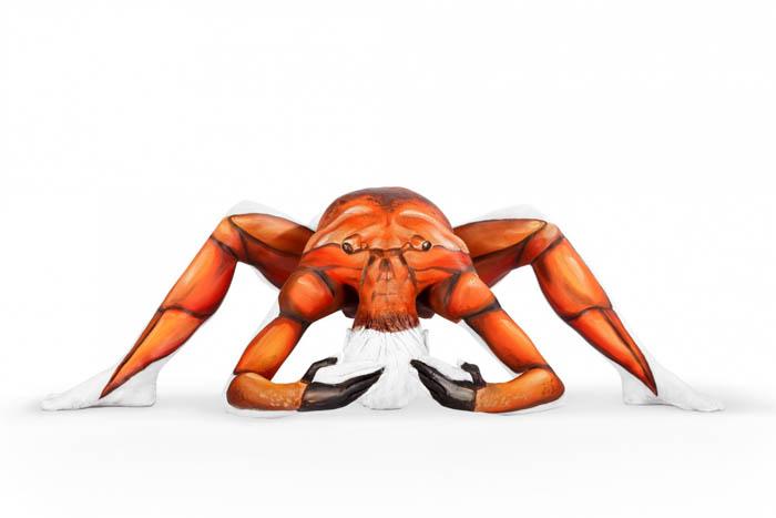 Body Painting Art - Crab