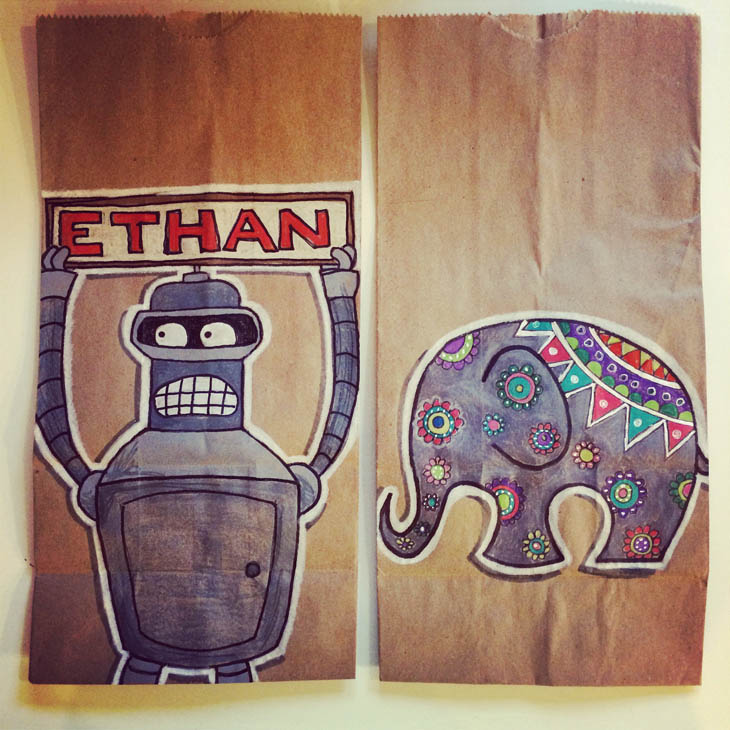 Bender and Elephant