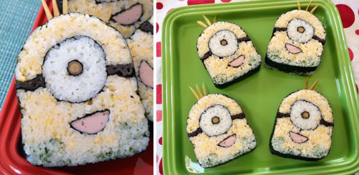 Minion Sushi Art