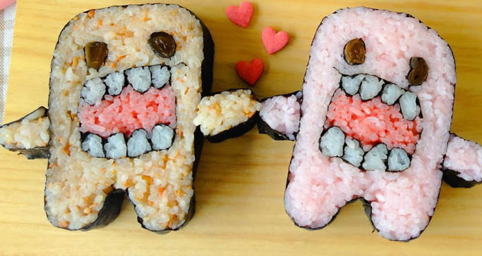 Monsters in Love Sushi