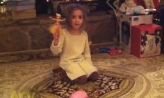 This Girl's Fairy Toy Can Do Many Tricks… But Wait For It!!