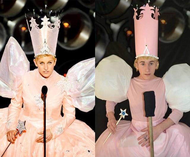 Celebrity copycat- Ellen DeGeneres