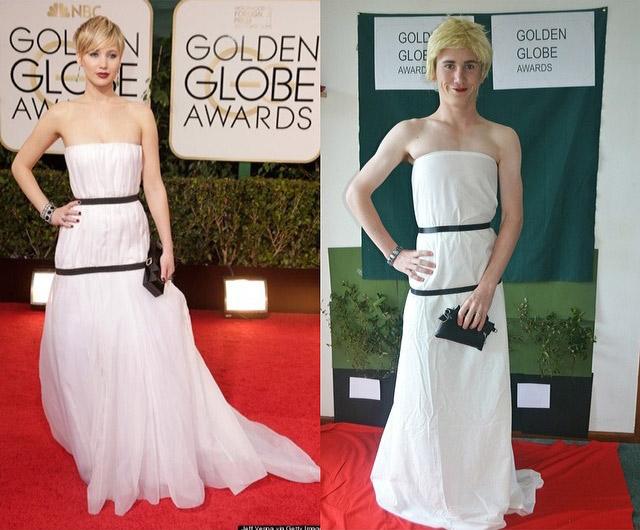 Celebrity copycat- Jennifer Lawrence
