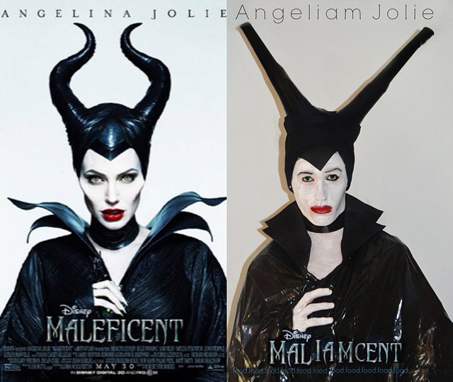 Angelina Jolie from 'Maleficent'