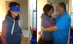 This Girl Freaks And Moved To Tears By Her Father's Beautiful Surprise.