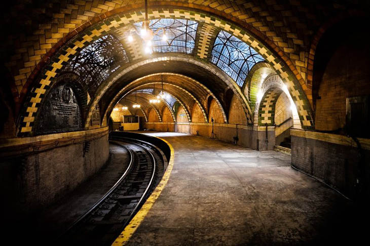 Beautiful Subway Stations - City Hall Station, New York