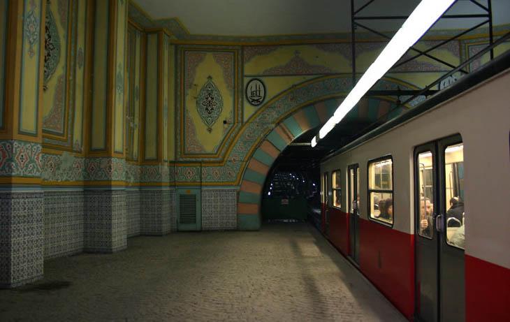Tunel, Istanbul Old Metro, Turkey