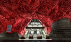 20 Of The Most Beautiful Subway Stations Around The World. #07 Is Epic!