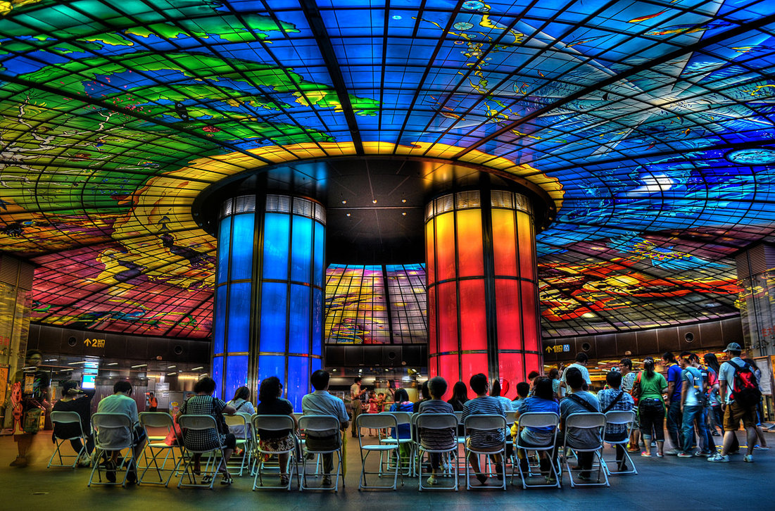 Worlds Most Beautiful Subway Stations Is Epic - The 12 most beautiful metro stations in the world