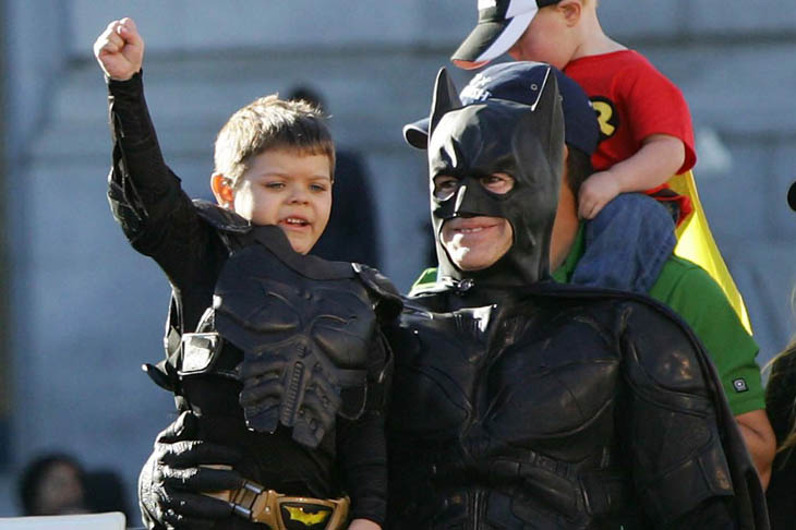 San Francisco comes together to help batkid save the city - and to grant the wish of an ill child. [2013]