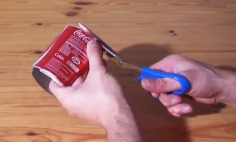 You Won't Believe It What He Can Do With A Can Of Coke. Just Wait For It!