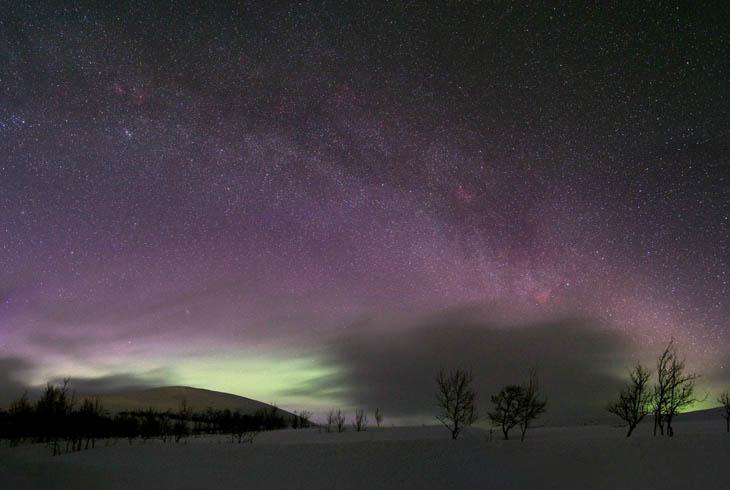 Night sky in Sweden