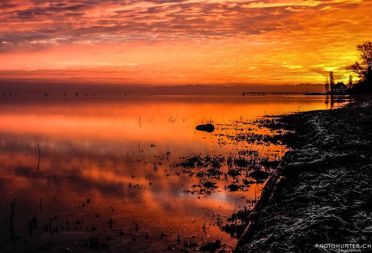 Golden Sky (lake Constance)