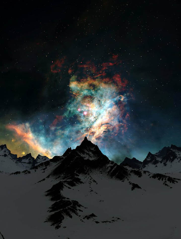 Night Sky in Alaska