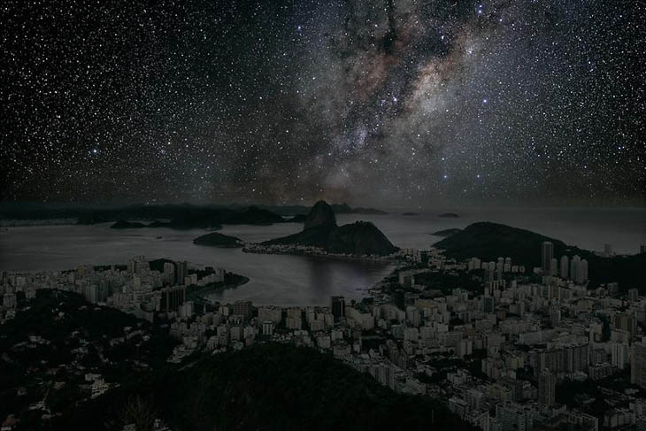 Night Sky in Rio