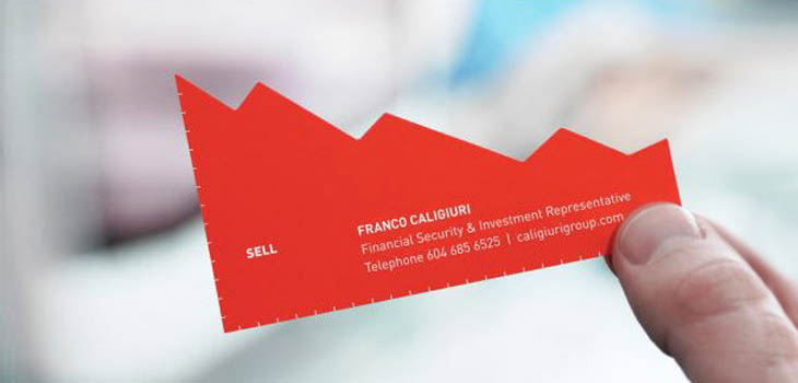 Smartest business cards - Buy/Sell Investment Representative Business Cards