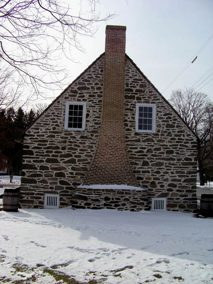 Abraham Hasbrouck House Face