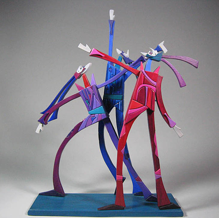 Moveable Sculpture by Werner Arnold