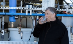 Bill Gates Drinks Water That Sucked Out Of Human Poop. Why? You'll Be Shocked!