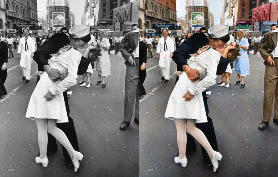 Kissing the war goodbye v j day august 14 1945