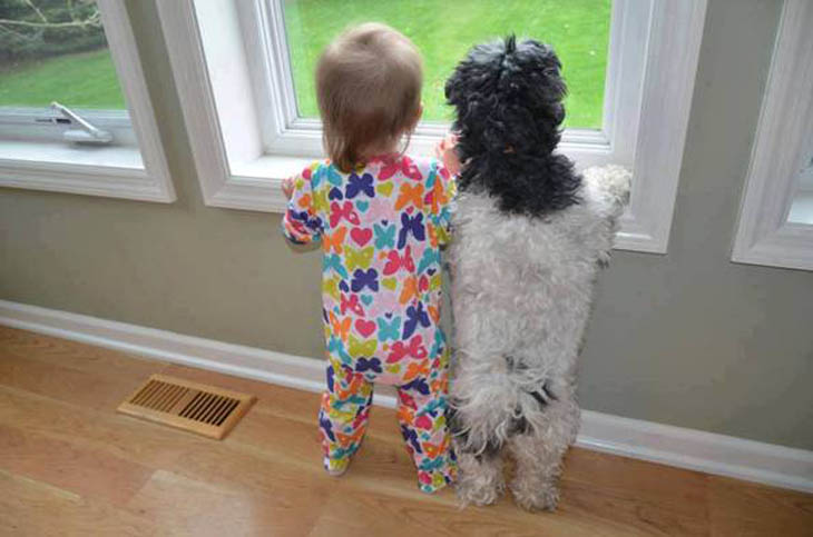 Waiting for Mommy!