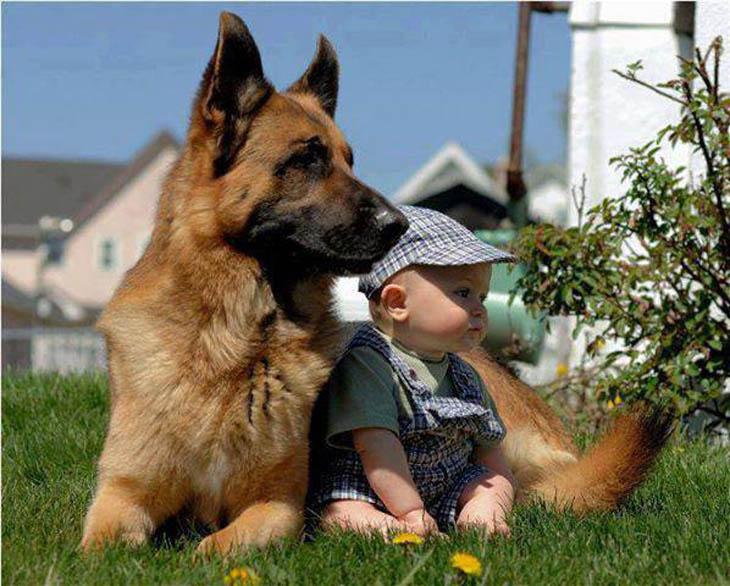 Cute Kids Act Like Animals- Keeping Neighbourhood Secure