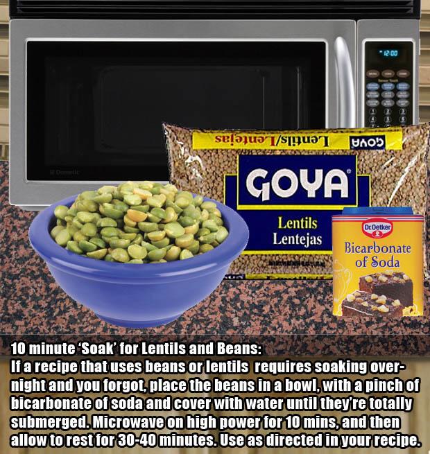 A modern alternative to soaking beans overnight.