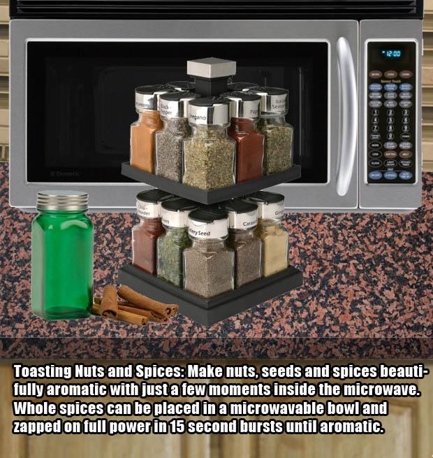 Microwave hacks - Make toasty nuts.