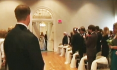 They Are Waiting For The Bride, But When The Door Opens, Everyone Get The HUGE Shock!