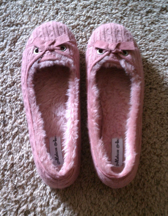 Angry Slippers