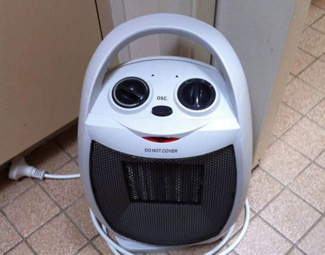 Everyday things with faces - pareidolia - Smiley Face