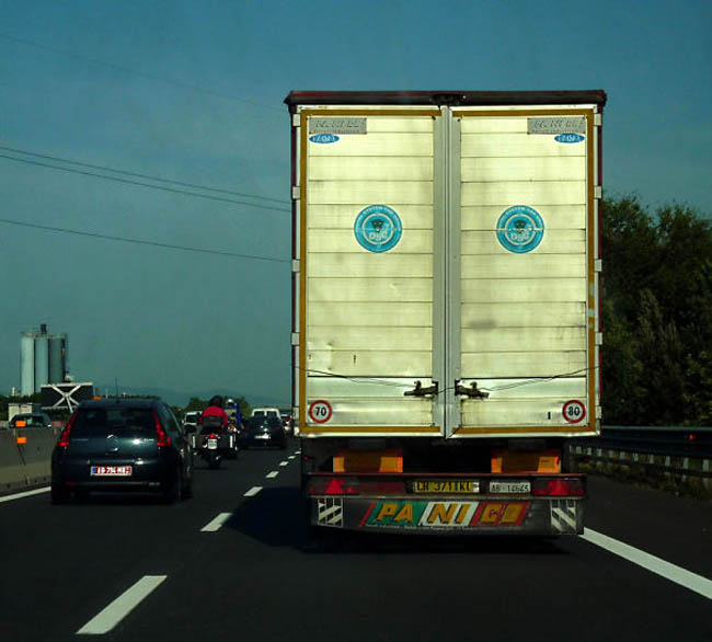 Everyday things with faces - pareidolia - Sad Truck
