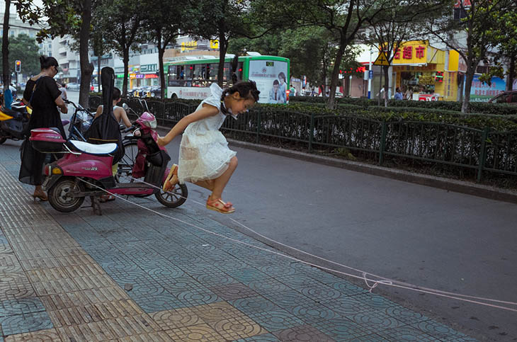 perfectly timed street photos