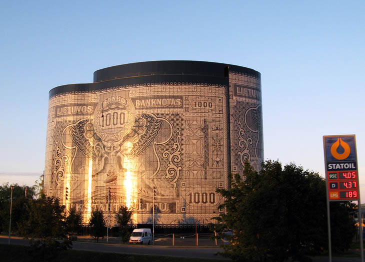 A bit Strange Building in Lithuania, Kaunas