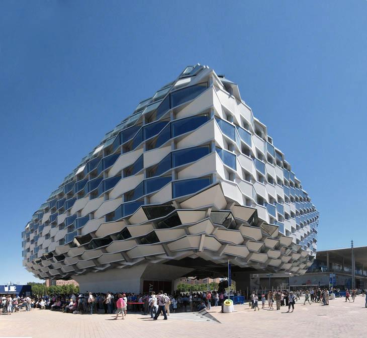 Expo Zaragoza 2008, Pabellon de Aragon