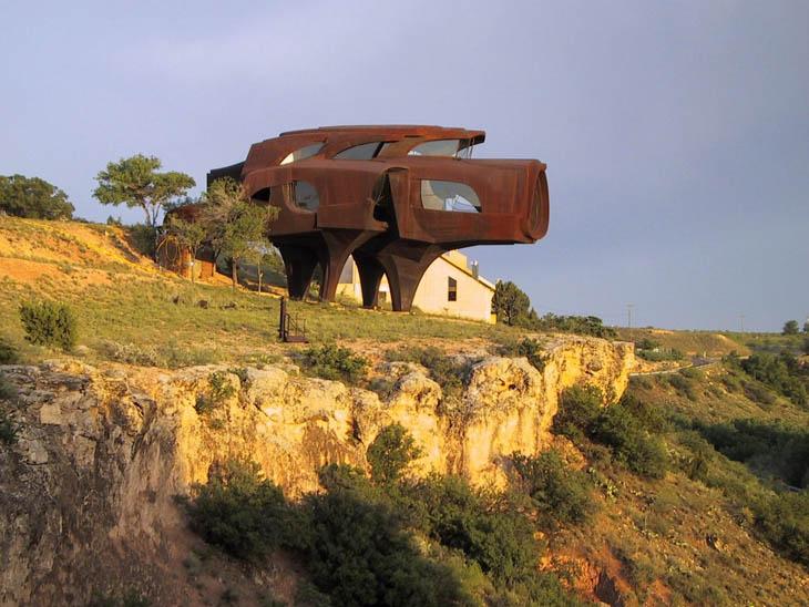 Most weirdest buildings - Robert Bruno House, Ransom Canyon, TX, USA