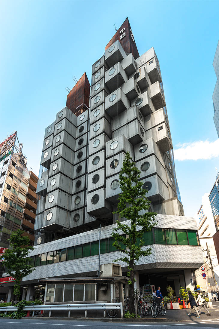 Nakagin Capsule Tower, Tokyo