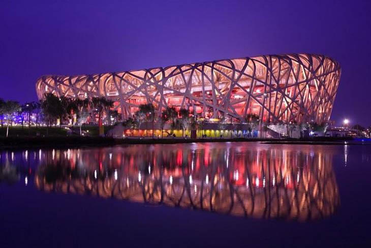 Most weirdest buildings - Bird's Nest, Beijing, China