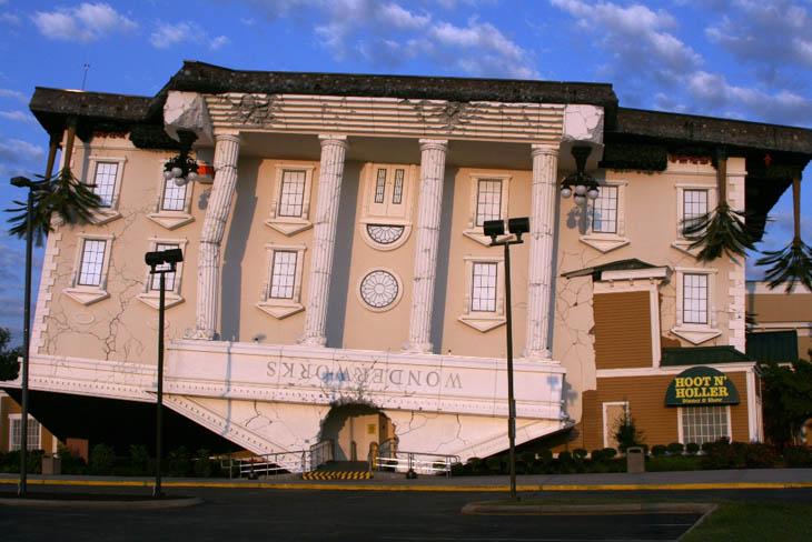 Most weirdest buildings - Wonderworks – Pigeon Forge, TN
