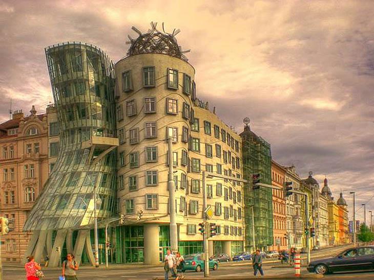 Dancing Building, Prague, Czech Republic