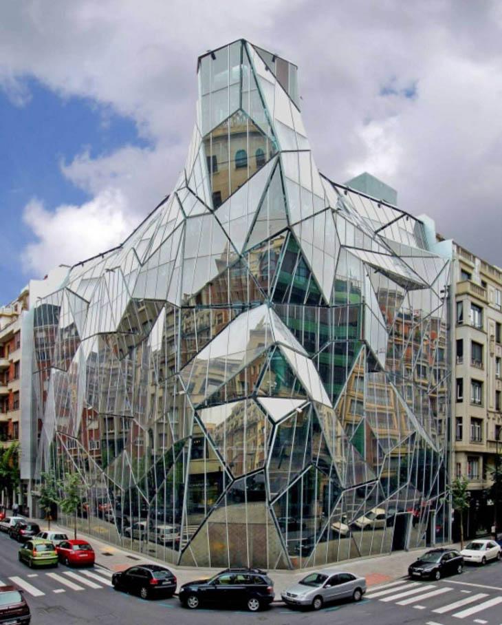 Most weirdest buildings - Bilbao Department of Health, Guardian Sunguard, Bilbao, Spain
