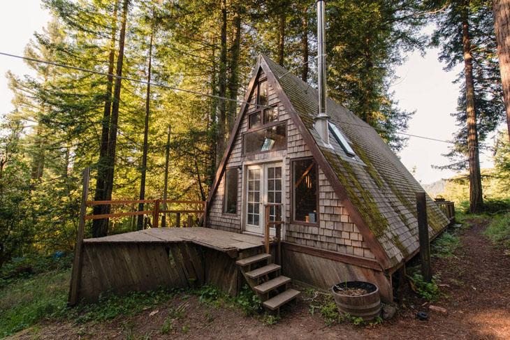 The tiny house has been lovingly restored.