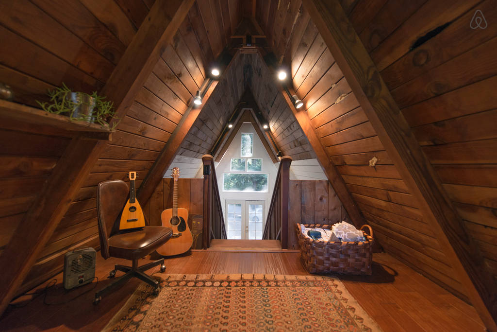 This Tiny House Looks Like Only Roof, But Inside? WHOA!