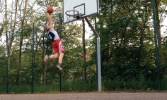 Watching This Kid Trying Dunking The Ball Is Oddly Satisfying. See Yourself!