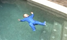 This Baby Fell In The Pool. What Happens Next Makes My Palms Sweat. Wow!