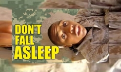 This Is Why You Don't Fall Asleep In The Military. It's Hilarious!