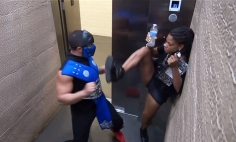 No Matter How Many Times You Watch This Mortal Kombat Prank, You Will Die Laughing!
