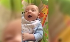 She Recorded Herself Talking To Her Newborn, But What Camera Caught? OMG!